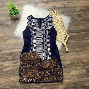 Anthropologie Floreat Sheath Dress